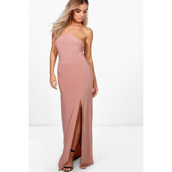 BOOHOO Elise Strappy Slinky Maxi Dress - Dresses are the most-wanted wardrobe item for day-to-night...