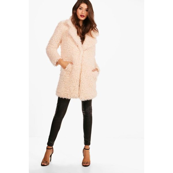 BOOHOO Elizabeth Shaggy Faux Fur Coat - Warm up in style and instantly elevate your look with a...