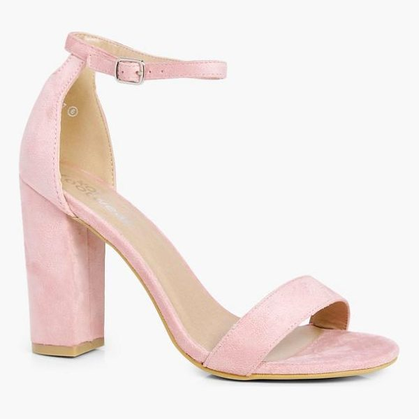 BOOHOO Emily 2 Part Block Heels - We'll make sure your shoes keep you one stylish step ahead...