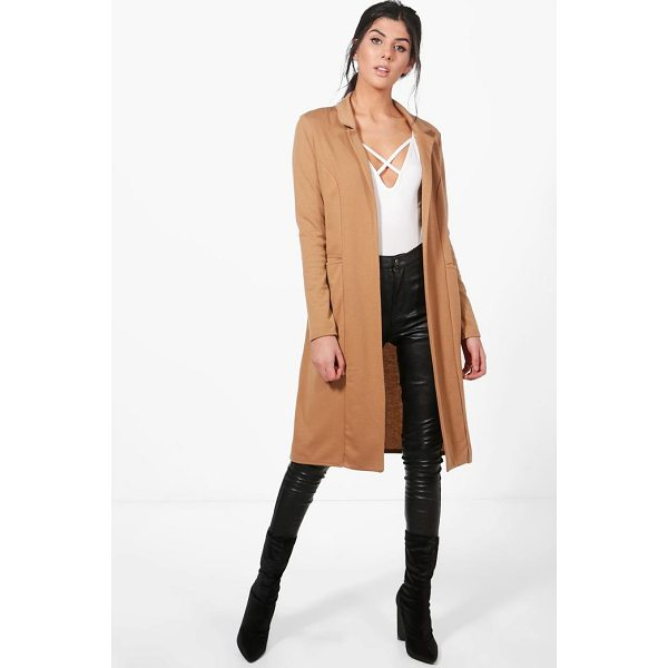 BOOHOO Emma Duster Jacket - Wrap up in the latest coats and jackets and get out-there...