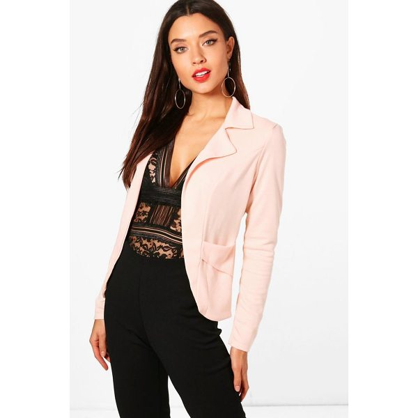 BOOHOO Faith Pocket Ponte Blazer - Wrap up in the latest coats and jackets and get out-there...