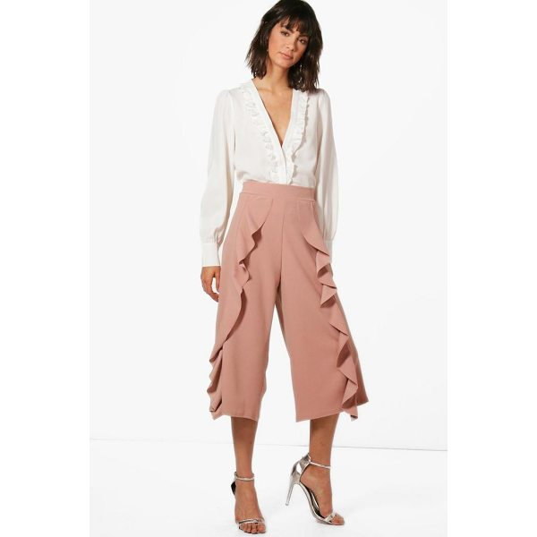 BOOHOO Ferne Frill Trouser - Trousers are a more sophisticated alternative to...