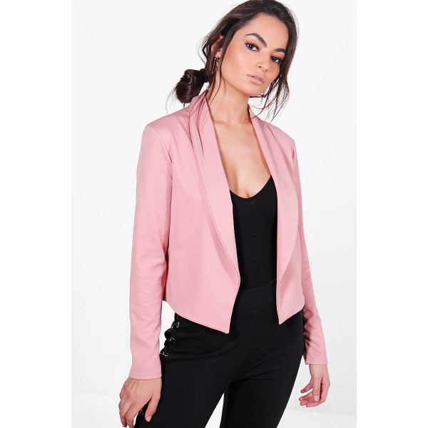 BOOHOO Freya Collared Blazer - Wrap up in the latest coats and jackets and get out-there...