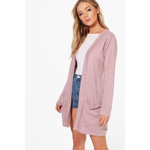 BOOHOO Freya Fine Knit Cardigan - Nail new season knitwear in the jumpers and cardigans that...