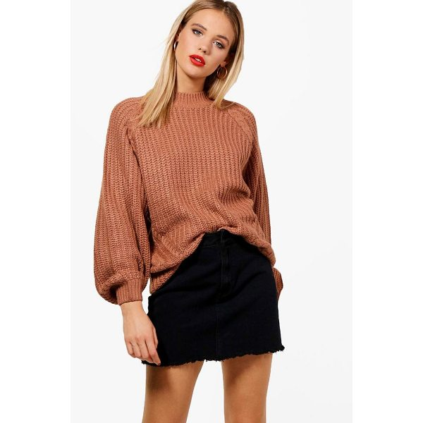 BOOHOO Grace Cable Knit Jumper - Nail new season knitwear in the jumpers and cardigans that...