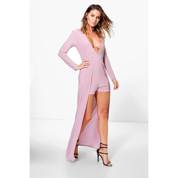 BOOHOO Grace Maxi Style Skinny Playsuit - Perfect for day or play, a playsuit will solve your style...