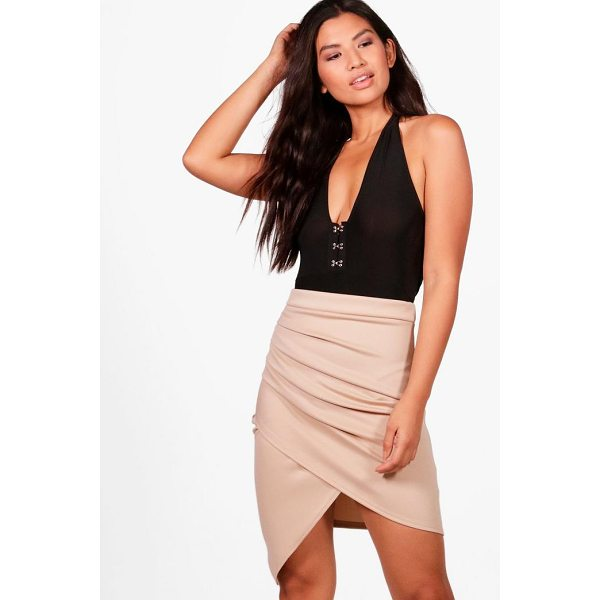 BOOHOO Gracie Rouched Side Asymetic Mini Skirt - Skirts are the statement separate in every wardrobe This...