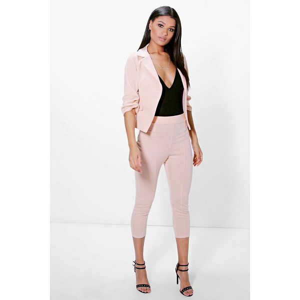 BOOHOO Hannah Crop Skinny Ponte Trouser - Trousers are a more sophisticated alternative to...