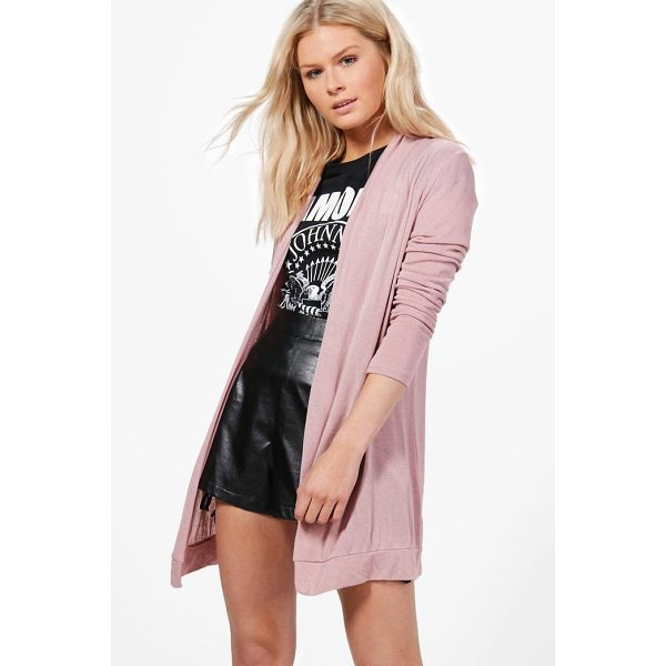 BOOHOO Harriet Fine Knit Cardigan - Nail new season knitwear in the jumpers and cardigans that...