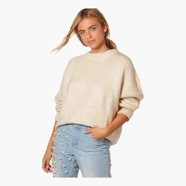 BOOHOO Harriet Oversized Jumper - Nail new season knitwear in the jumpers and cardigans that...