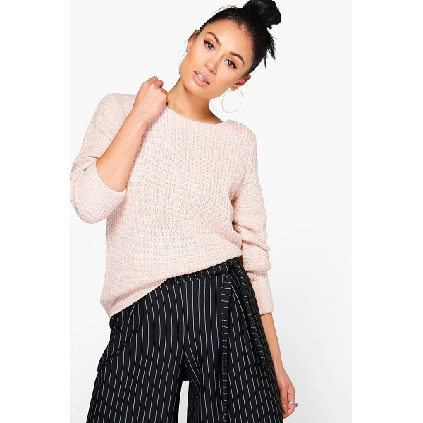BOOHOO Harriet Turn Back Cuff Jumper - Nail new season knitwear in the jumpers and cardigans that...