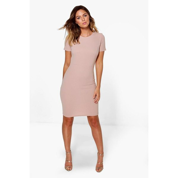 BOOHOO Holly Fitted Tailored Dress - Dresses are the most-wanted wardrobe item for day-to-night...