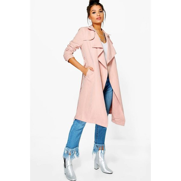 BOOHOO Isabella Waterfall Mac - Wrap up in the latest coats and jackets and get out-there...