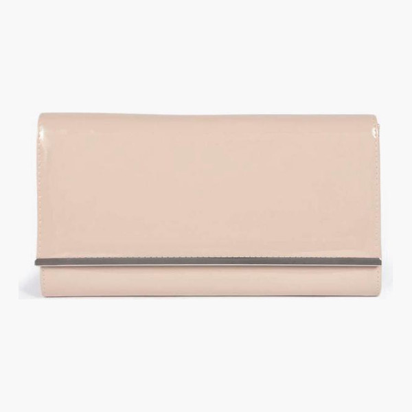 BOOHOO Jasmine Patent Clutch Bag - A bag will make sure you have all your must-haves to...