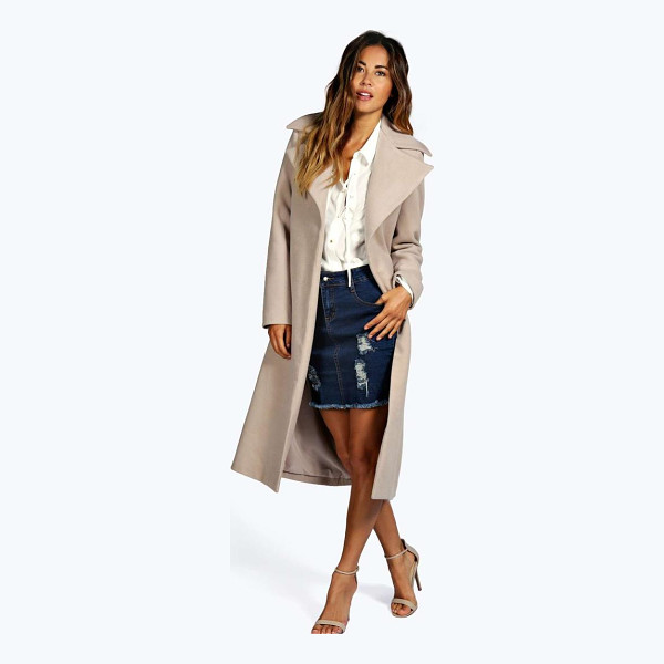 BOOHOO Jeeny Wool Look Coat - Coats and jackets are a key component for staying snug and...