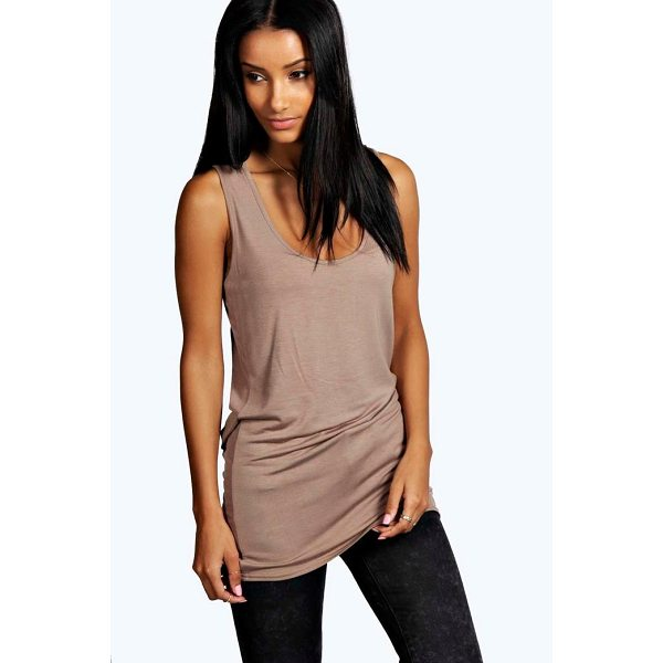 BOOHOO Keira Basic Racer Back Longline Vest - We know when it comes to choosing your new season style...