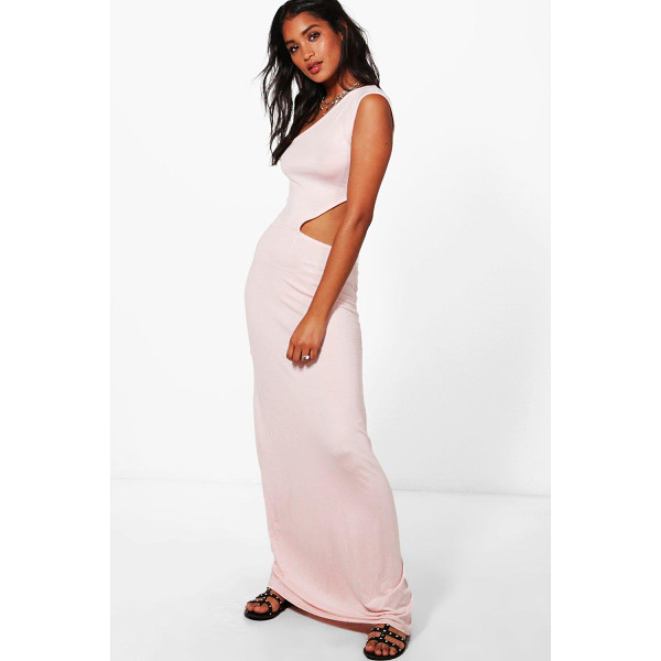 BOOHOO Lauren One Shoulder Cut Out Maxi Dress - Dresses are the most-wanted wardrobe item for day-to-night...