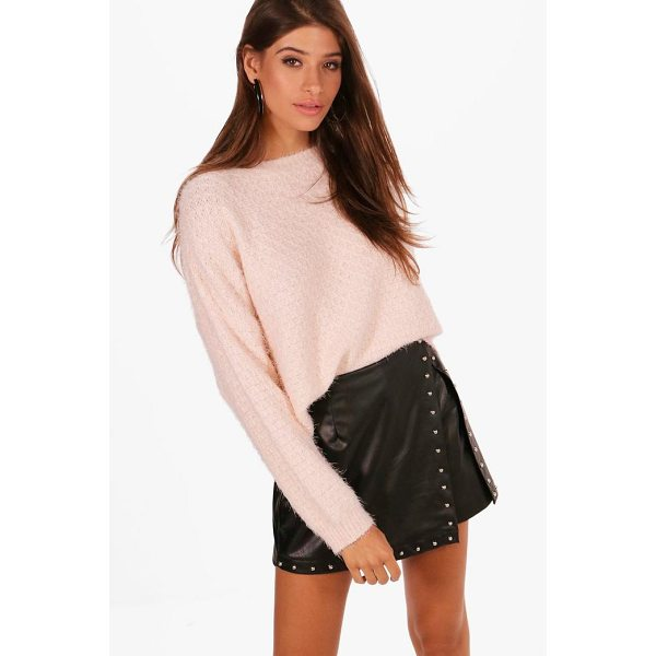 BOOHOO Lily Crop Eyelash Jumper - Sweaters are a key piece for your casual wardrobe. Think...