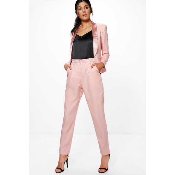 BOOHOO Lily Tailored Tuxedo Waistband Trousers - Trousers are a more sophisticated alternative to...