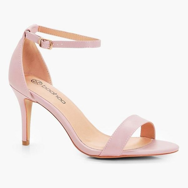 BOOHOO Lois Low Heel Two Part Sandals - We'll make sure your shoes keep you one stylish step ahead...