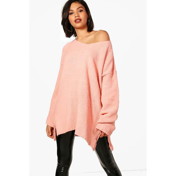 BOOHOO Lydia V Neck Chenille Jumper - Nail new season knitwear in the jumpers and cardigans that...