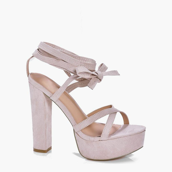 BOOHOO Madeleine Lace Up Platform - Sandals are a staple for those sunny daysSeal the deal on...