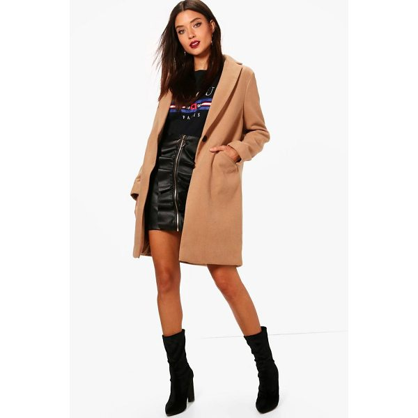 BOOHOO Maisie Crombie Coat - Wrap up in the latest coats and jackets and get out-there...