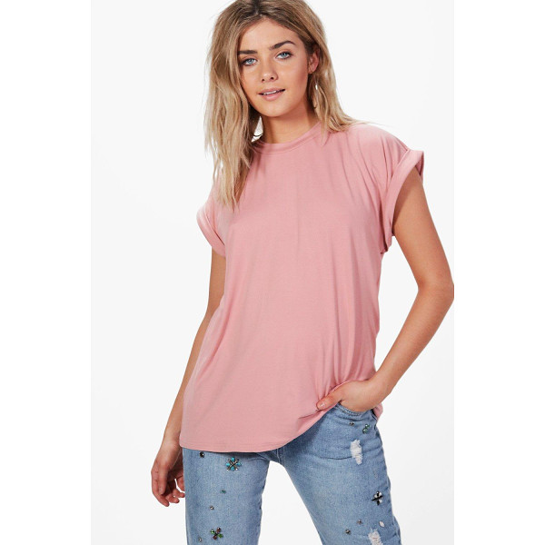 BOOHOO Maisie Oversized Boyfriend T-Shirt - Steal the style top spot in a statement separate from the...