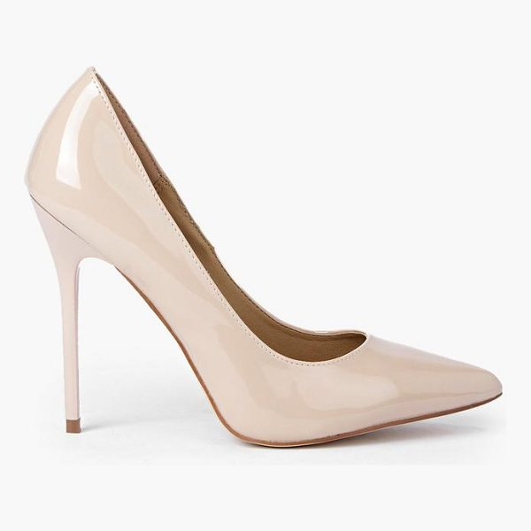 BOOHOO Matilda Patent Court Heels - Strappy, caged, laced-up, or adorned in stand-out...