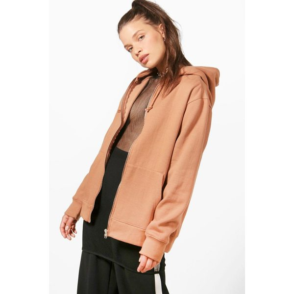BOOHOO Maya Zip Through Hoody - Steal the style top spot in a statement separate from the...