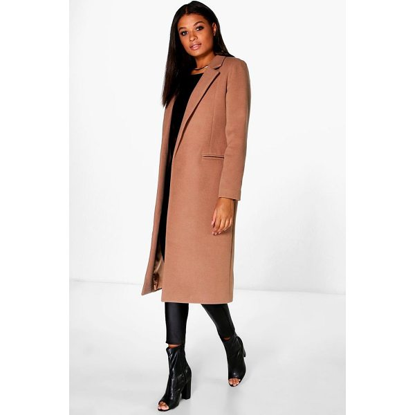 BOOHOO Megan Tailored Coat - Wrap up in the latest coats and jackets and get out-there...