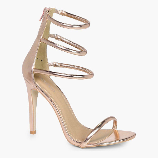BOOHOO Melissa 3 Band Heels - We'll make sure your shoes keep you one stylish step ahead...