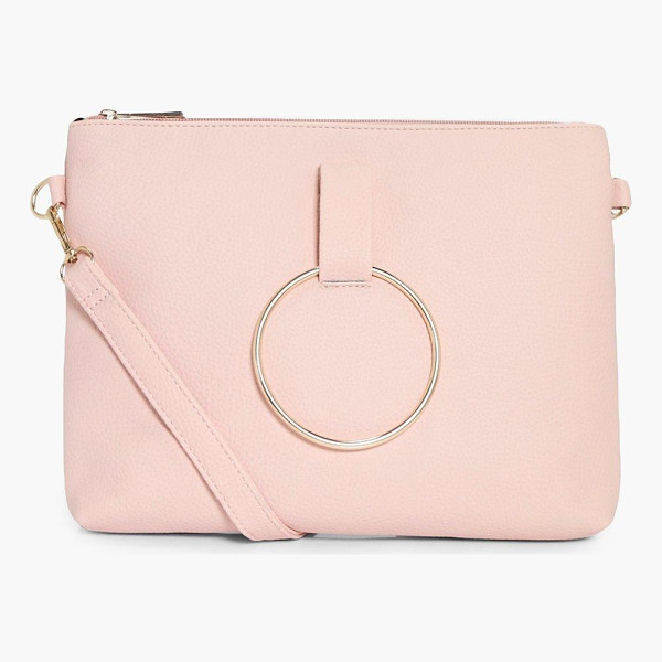 BOOHOO Nina Loop Ring Detail Cross Body Bag - Add attitude with accessories for those fashion-forward...