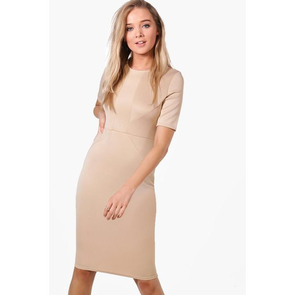 BOOHOO Olivia Tailored Midi Dress - Dresses are the most-wanted wardrobe item for day-to-night...