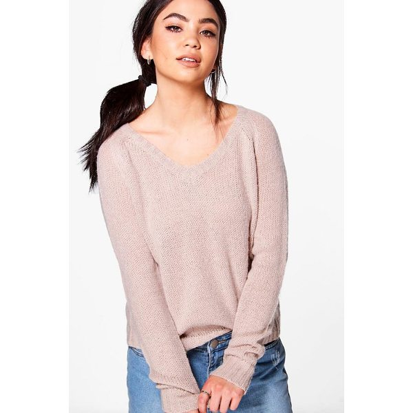 BOOHOO Poppy Crop Knit Jumper - Nail new season knitwear in the jumpers and cardigans that...