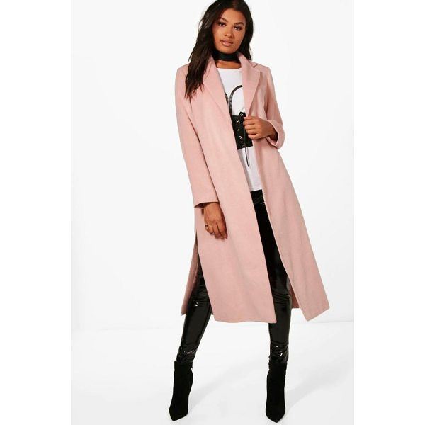 BOOHOO Rebecca Tailored Coat - Wrap up in the latest coats and jackets and get out-there...