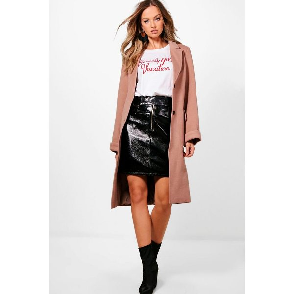 BOOHOO Rosie Oversized Coat - Wrap up in the latest coats and jackets and get out-there...