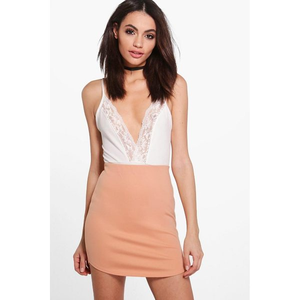 BOOHOO Saffy Curved Hem Scuba Mini Skirt - Skirts are the statement separate in every wardrobe This...