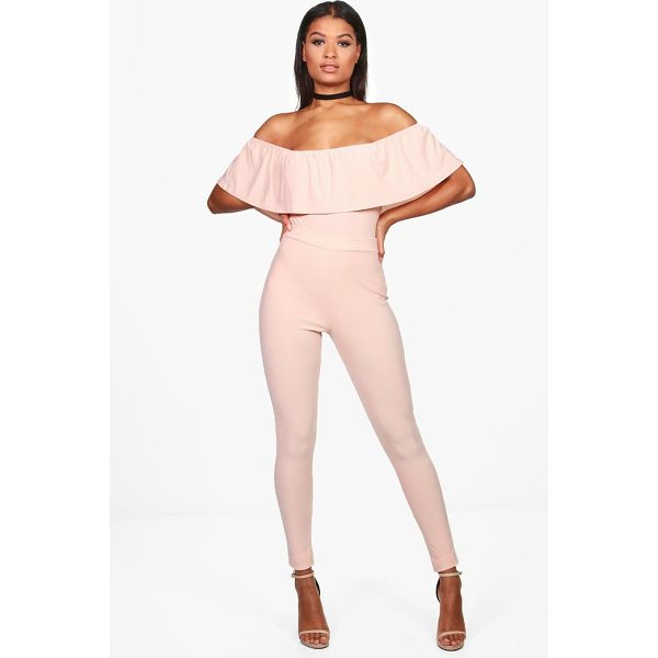 BOOHOO Una Off Shoulder Body & Trouser Co-ord - Co-ordinates are the quick way to quirky this seasonMake...