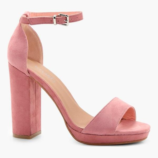 BOOHOO Zoe Platform Heels - Strappy, caged, laced-up, or adorned in stand-out...