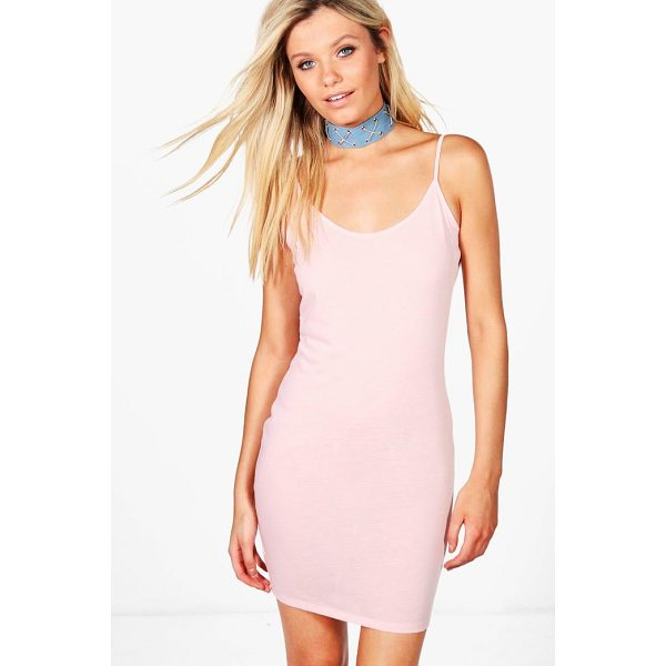 BOOHOO Zoe Strappy Bodycon Dress - Dresses are the most-wanted wardrobe item for day-to-night...