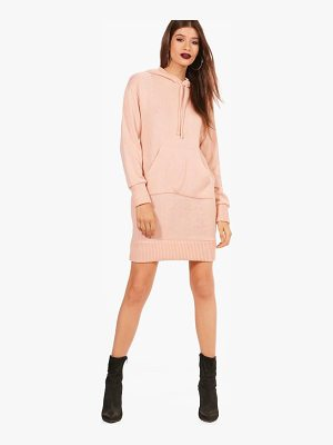 BOOHOO Abigail Hooded Jumper Dress