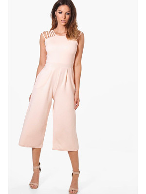 Boohoo Strappy Detail Culotte Jumpsuit