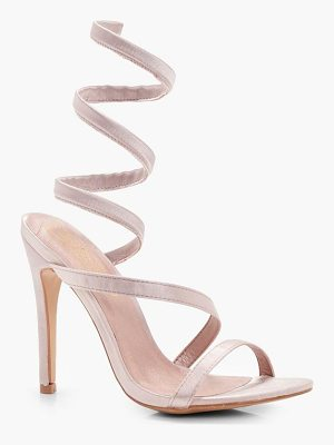 Boohoo Angel Spiral Strap Sandals