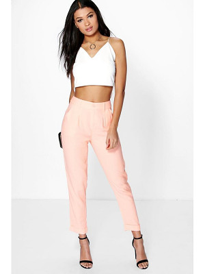 Boohoo Audrey Chino Style Woven Trousers