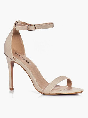 BOOHOO Beatrice Two Part Heels