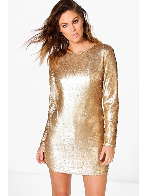 Boohoo Boutique Fliss Sequin Bodycon Dress