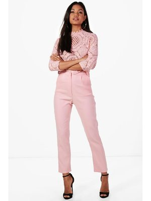 Boohoo Boutique Crop & Pants Co-Ord Set