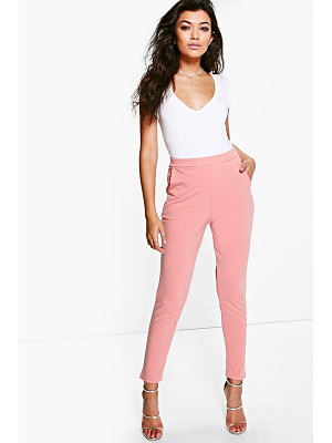 BOOHOO Carmilla Scuba Super Stretch Skinny Trousers