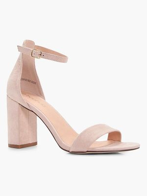 Boohoo Block Heel 2 Part Heels